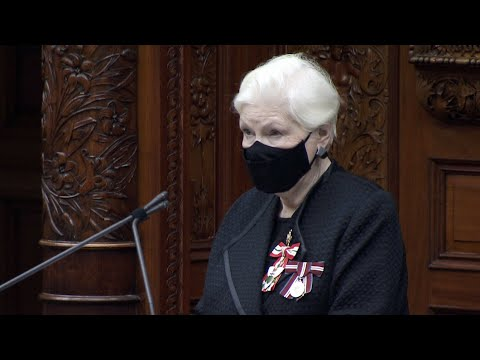 Ontario's lieutenant governor delivers Speech from the Throne