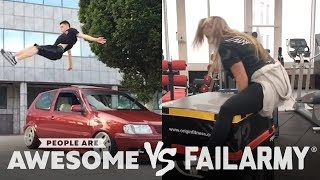 Parkour, Skateboarding & More | People Are Awesome vs. FailArmy