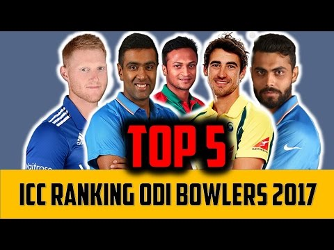 ICC test cricket rankings 2017 || Top 5 test all rounders.