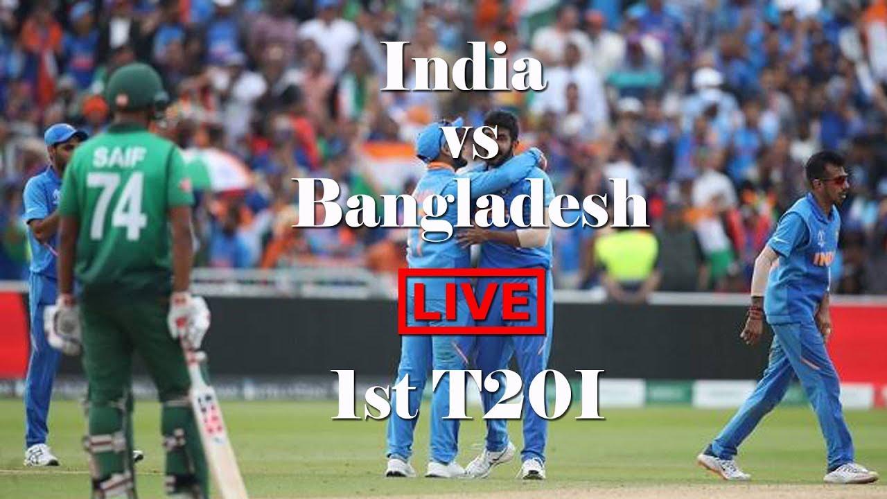 Live Cricket Score, India vs Bangladesh 1st T20I, Live Match ...