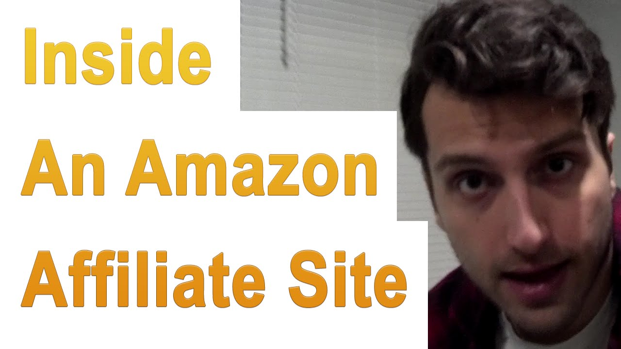 Look Inside: An Earning Amazon.com Affiliate Website - YouTube