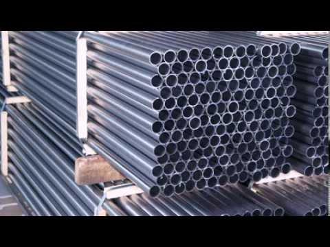 Видео Труба сварная прямошовная с полностью сплющенным гратом 40х2 8 цена
