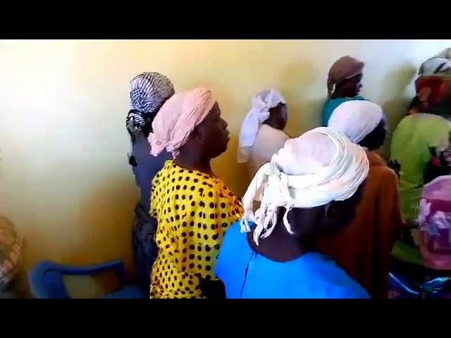 Sick members being prayed for in Jesus name