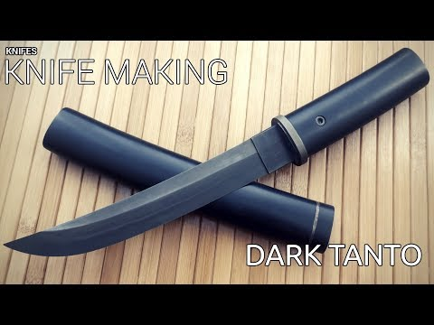 Knife Making - Dark Modern Tanto