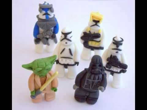 Star wars cake decorations YouTube