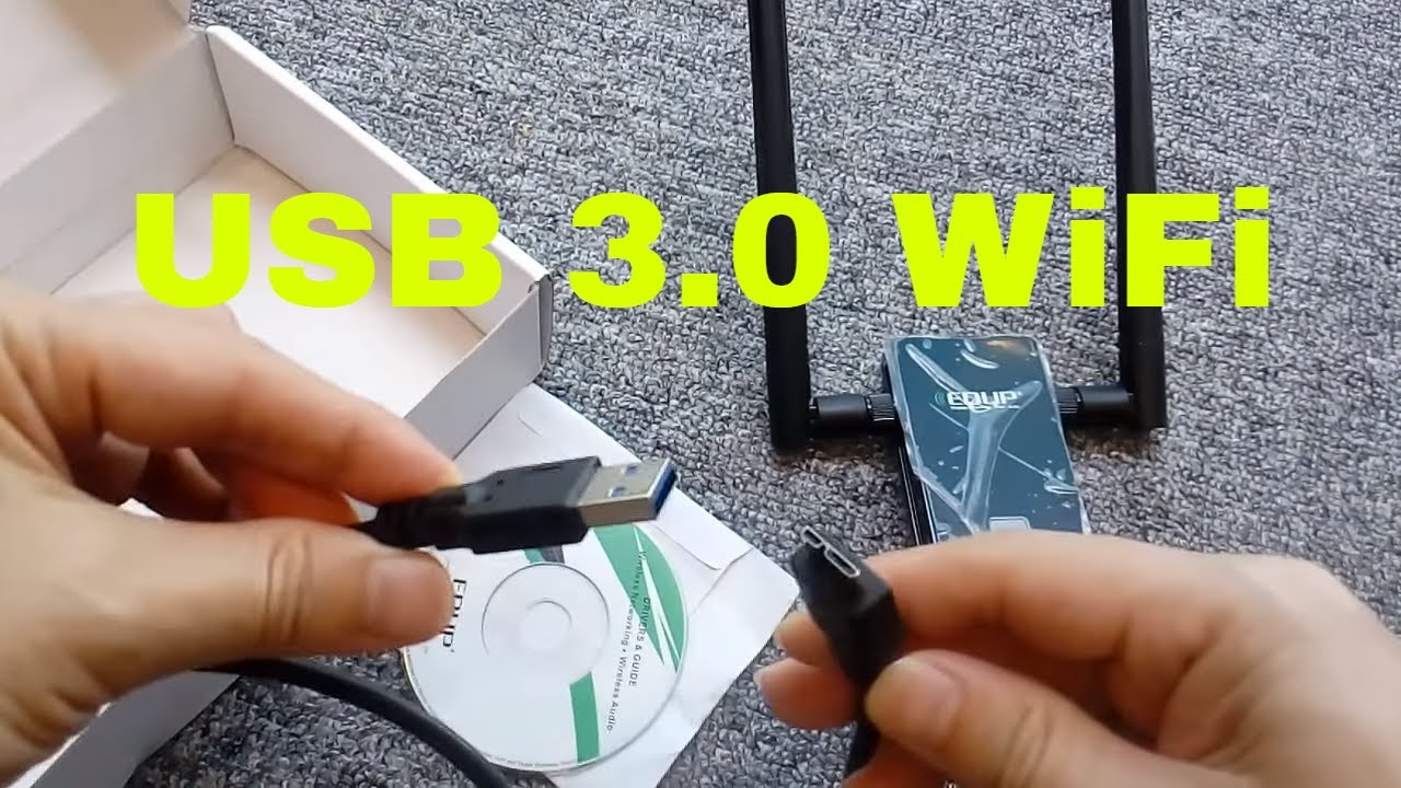 Edup Usb 30 Wireless Wifi Adapter Dual Band 24ghz 5ghz 1200mbps Ha2403gtnf 3 Watt 24 Ghz Outdoor 80211b G N Amplifier 80211ac