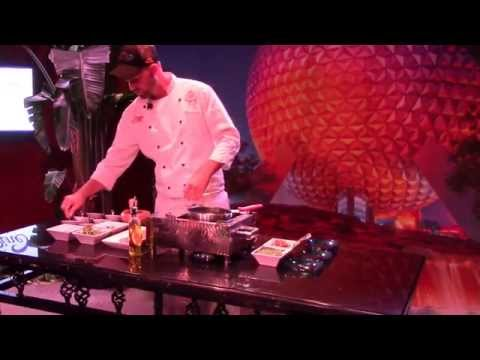 Roasted Verlasso Salmon with Quinoa Salad and Arugula Chimichurri-Cooking Demonstration