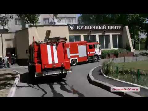 Видео 'Новости-N': В Николаеве горел подвал жилого дома