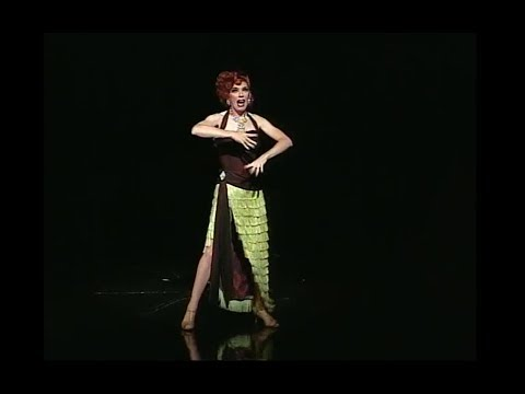 Lypsinka performs at Betty Comden's Broadway memorial service 2007