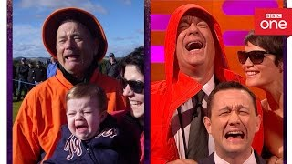 Tom Hanks recreates THAT Bill Murray photo - The Graham Norton Show 2016 - BBC One