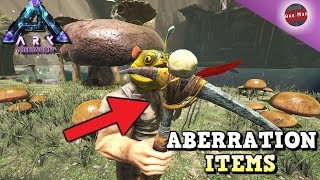 SECRET ITEMS THAT DIDN'T MAKE THE GAME | ARK ABERRATION DLC