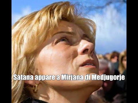 Satana appare a Mirjana di Medjugorje