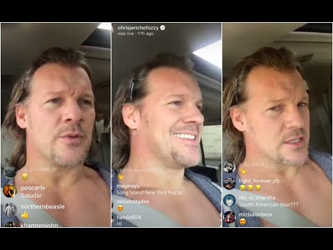 Chris Jericho LEAKS the Wrestlemania card and says he'll NOT be in the Royal Rumble