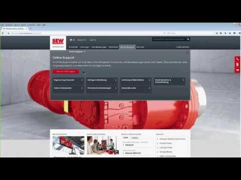 Kundenportal Online Support Webinar | SEW-EURODRIVE