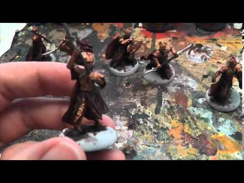GBHL Damian's Hobby VLOG #17 *Stage by stage Mirkwood Elf painting*