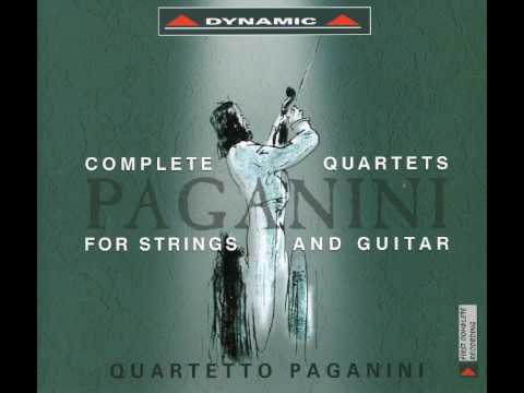 Paganini - The complete quartets for strings and guitar 1-5