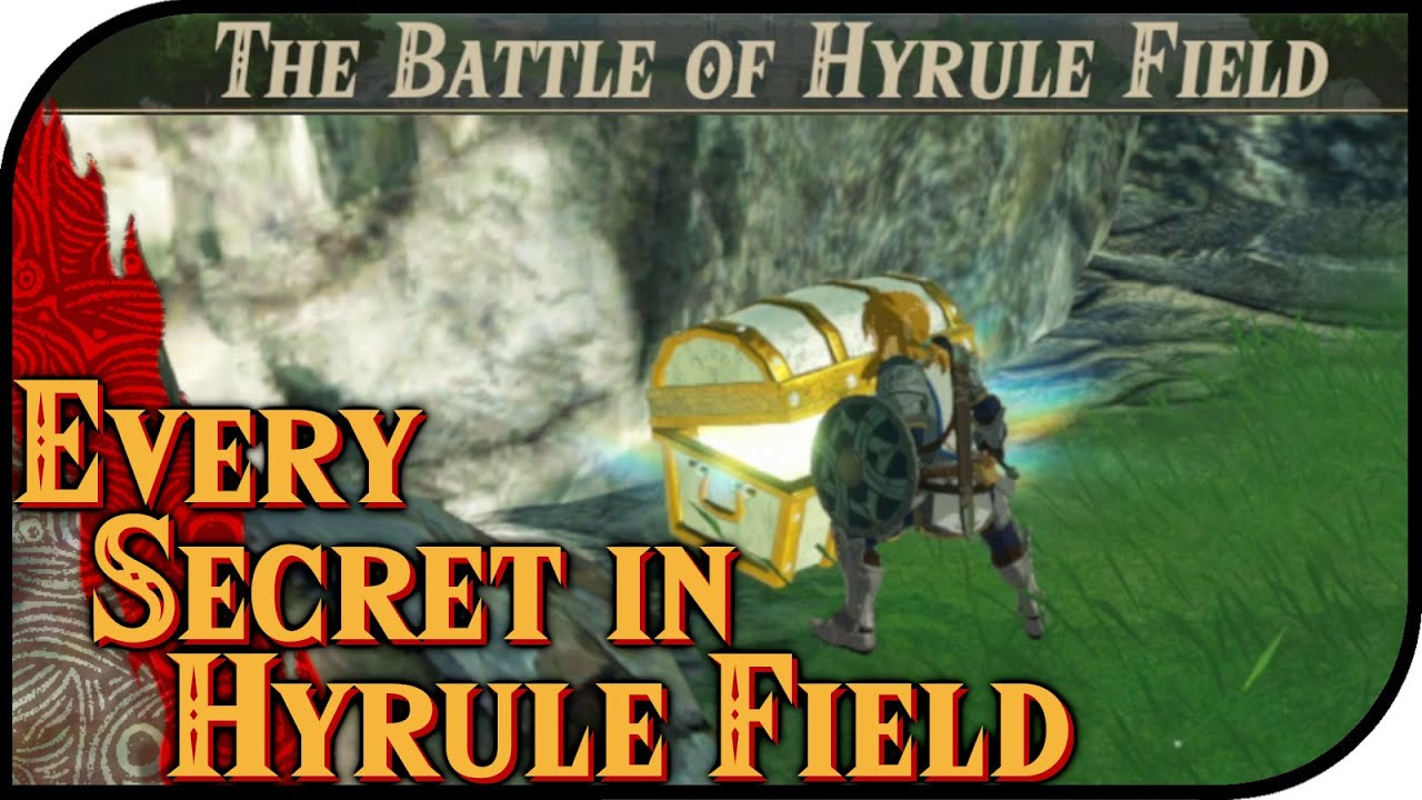 Every Secret In Hyrule Fields Hyrule Warriors Age Of Calamity Guide All Korok Seeds And Chests Youtube