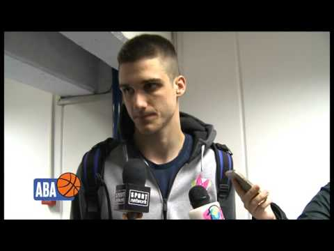 Rade Zagorac after the first game of the Finals