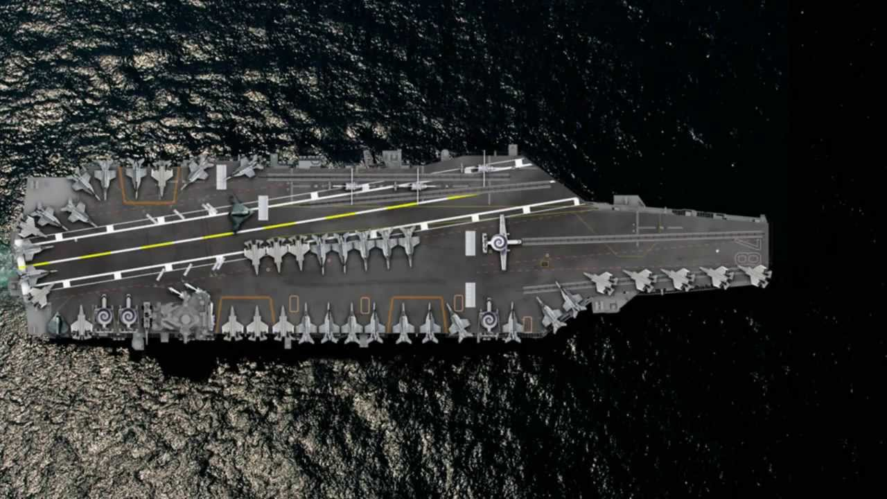 Uss Nimitz Size Comparison Capt. Meier on Ford: N...
