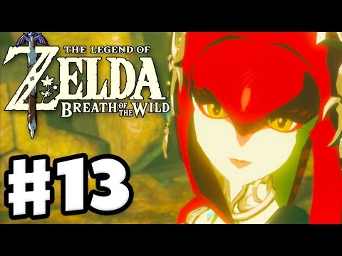 Mipha Memory and Zora&39;s Domain - The Legend of Zelda: Breath of the Wild - Gameplay Part 13