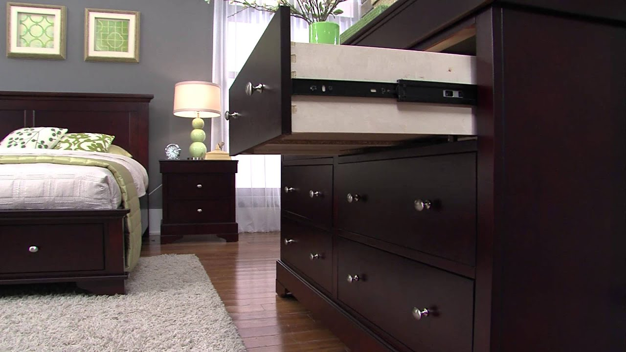 Hudson Bedroom Collection - YouTube