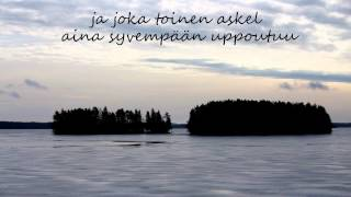 Pete Parkkonen - Kiitos w/lyrics
