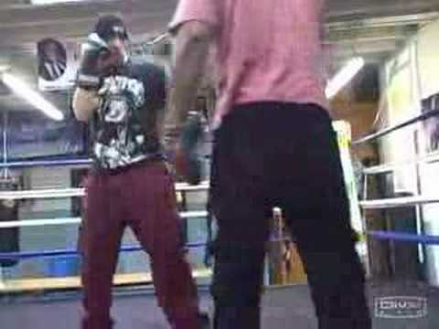 www.BeatingBonaduce.com Training with Tim Witherspoon