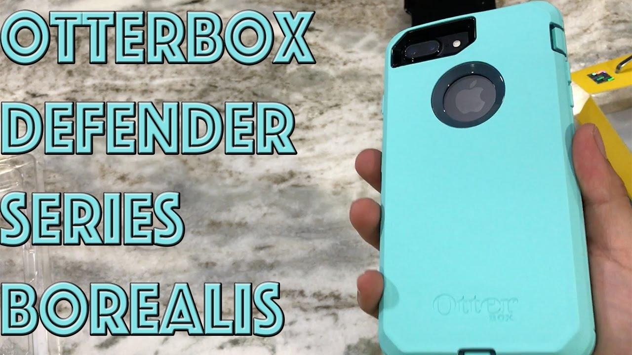 best website 893e1 ef59e iPhone 7 Plus OtterBox Defender Series Borealis Tempest Blue/Aqua Mint Case  Review