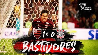 Flamengo 1 x 0 Corinthians  - Bastidores