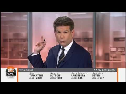 New Zealand TV3 2014 election night coverage - part 1