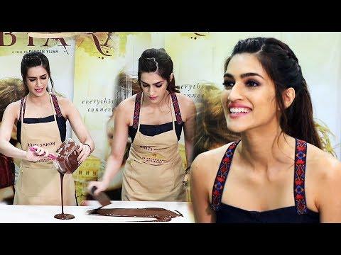 Chocolate Making Interactive Session With Kriti Sanon - Raabta Promotion