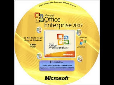 office 2007 serial download completo
