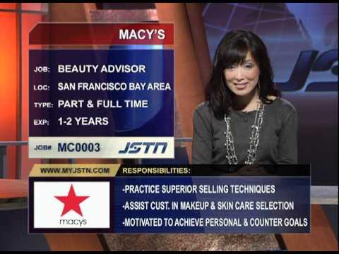 Macy's Beauty Advisor - San Francisco