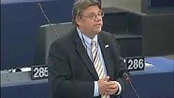 MEP Timo Soini (ps.) 1. puheenvuoro europarlamentissa 15.7.2009 simultaanitulkattuna englanniksi
