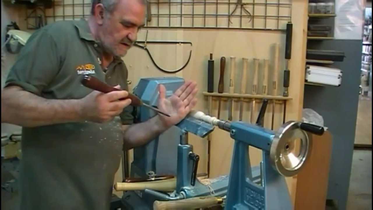 como tornear madera