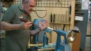 Torneado en madera - Técnicas básicas. Presentacion del DVD