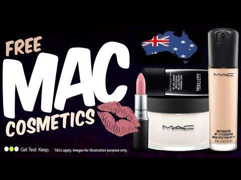 Australia ONLY: Test & Keep MAC Cosmetics