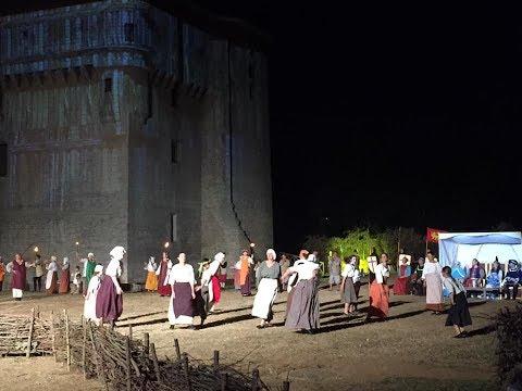 Clip / vidéo long du spectacle les nuits de la Tours en Vendée