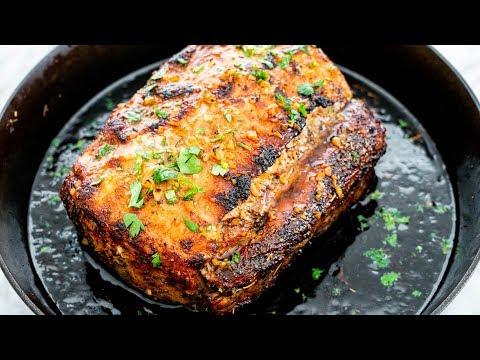 Honey-Glazed Spiced Pork Tenderloin