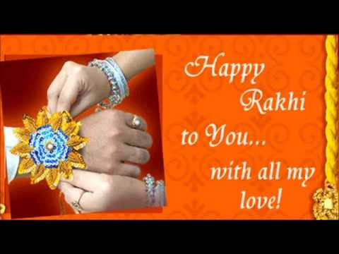 Happy Raksha Bandhan (Rakhi) Greetings, SMS, Whatsapp Message From Sister To Brother