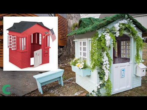 Little Tikes Playhouse English Cottage Makeover