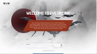 Регистрация и создание персонажа в игре EVE Online
