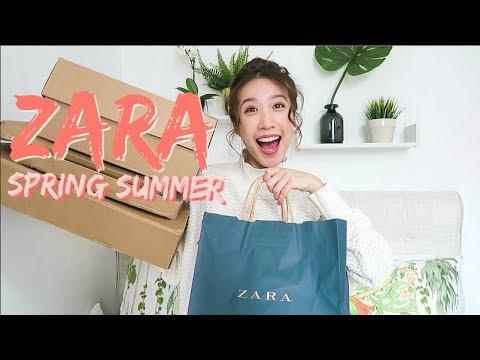 HUGE ZARA Spring Summer Haul | 2018 Try On Haul