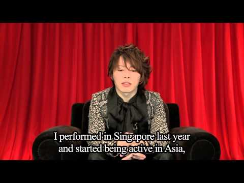 New Year comment from T.M.Revolution