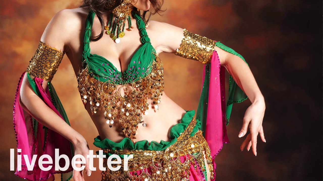 Beautiful belly dance - 3 3