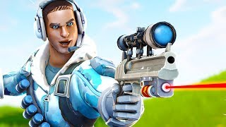 Shooting Lasers in Fortnite Battle Royale