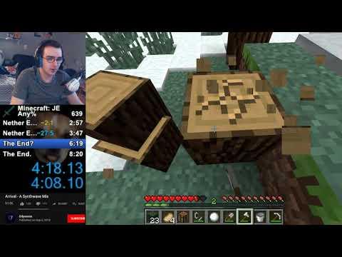 Minecraft SSG Speedrun / PB of 8:03.05