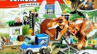 https://youtu.be/C2uXwsIWsHs Jurassic World LEGO Juniors T-Rex Brea...
