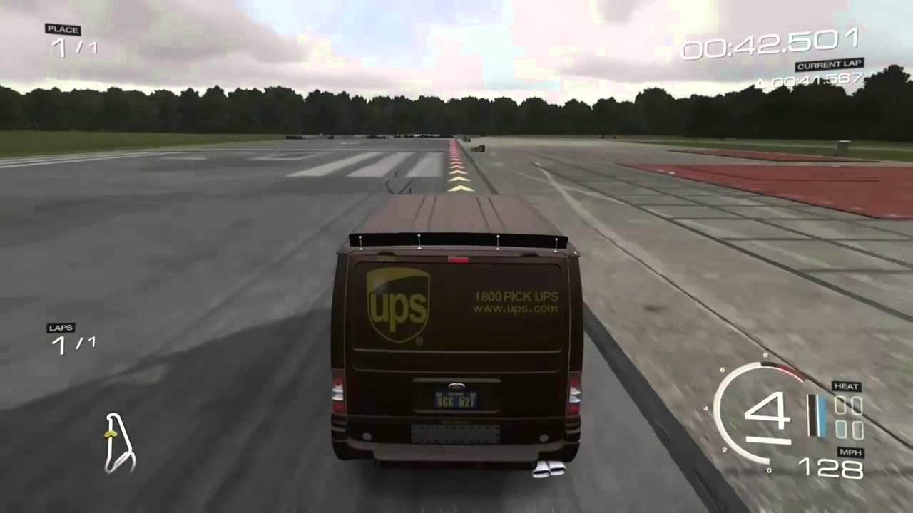 2011 ups ford transit supersportvan forza motorsport 5