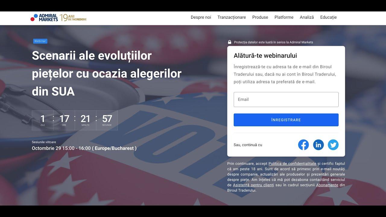 site de tranzacționare